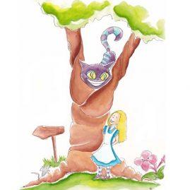 Illustratie Alice