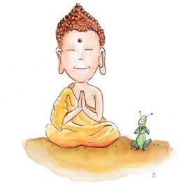 Illustratie Meditatie