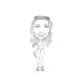 Illustratie zelfportret