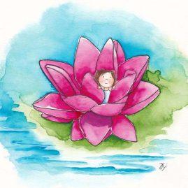 Illustratie Lotus