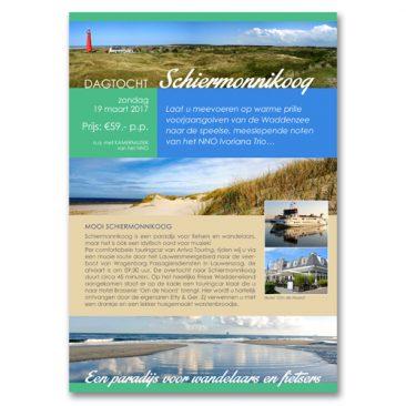 Dagtocht Schiermonnikoog Flyer