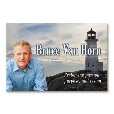 Bruce Van Horn Visitekaartje