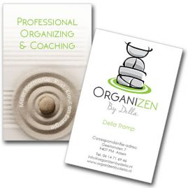 Organizen by Della visitekaartje