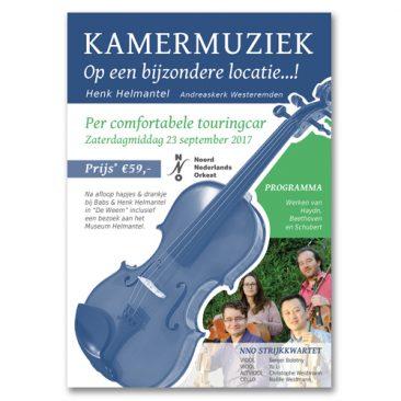 NNO Orkest/ Henk Helmantel Flyer
