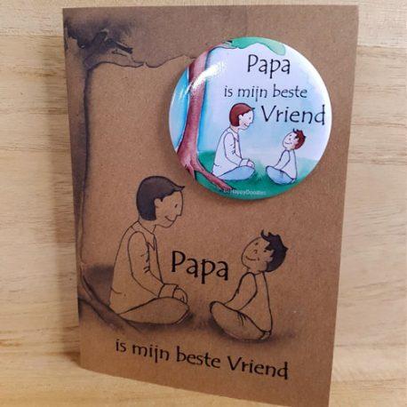 Papa, kaart, Illustraties, kinderboeken, kaarten, cadeautjes, Assen. Grafisch ontwerp, familiedrukwerk.