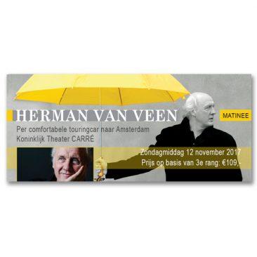 Website banner Herman van Veen Grafisch vormgever Assen