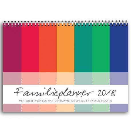 gezinsplanner, familieplanner, weekplanner, 2018