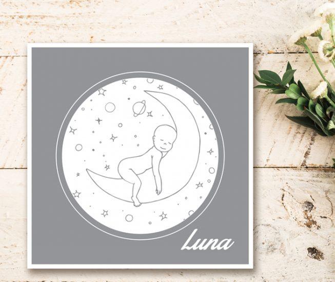 Persoonlijk ontwerp geboortekaartjes Assen