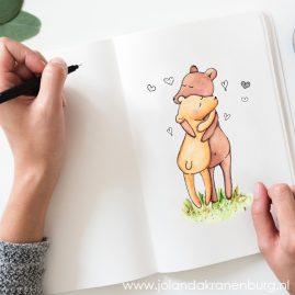 illustraties kinderboeken illustrator Assen